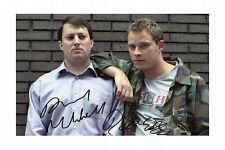 THE PEEP SHOW - DAVID MITCHELL & ROBERT WEBB SIGNED A4 PP POSTER PHOTO