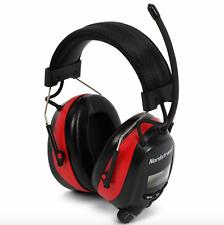 Electric Ear Defenders Earmuffs With/ FM/AM Digital Radio Builtin Mic Protection
