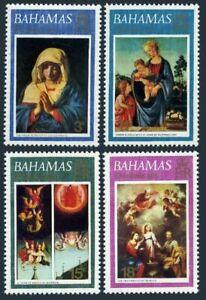 Bahamas 352-355,355a,MNH.Christmas 1973,Sassoferrato,Lippi,Marmoin,Murillo.