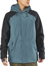 Dakine MERIDIAN 15K Mens Zip Front Hoodie Jacket L Dark Slate NEW 2019 Sample