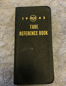 RCA 1945 Tube Reference Book Definitions,Charts,Stations,Socket Connections, etc