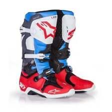 Stivali da guida fuoristrada rossi marca Alpinestars
