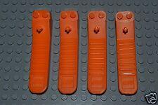 Lego Brick Puller Piece Separator Tool Lot of 4 orange with technic peg ORL