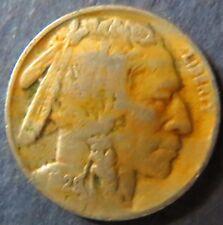 Vintage 1929 INDIAN HEAD/BUFFALO NICKEL, Fine Details, Philadelphia Mint Coin #5