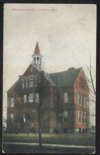 Postcard LEETONIA Ohio/OH  South Side School Campus Building view 1907