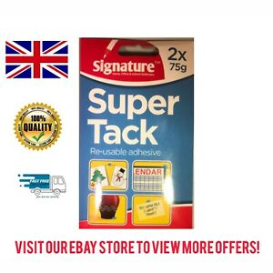 Super Tack by Signature Reusable Adhesive for Home, Office & School Stationery
