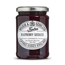 Tiptree Raspberry Seedless Conserve (2 Jars x340g) Quality English Jam