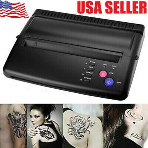 Tattoo Transfer Paper Copier Tattoo Thermal Stencil Maker Printer Machine US !