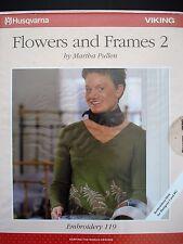 2001HUSQVARNA VIKING Embroidery 119 Floppy Ecard Flowers and Frames 2 15 Designs