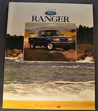 1996 Ford Ranger Pickup Truck Brochure XL XLT STX 4x4 Splash Excellent Original