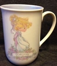 Precious Moments Dorothy Coffee Mug Personalized Gift Name Meaning Purple 8 Oz