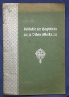 Glauert/Bartsch Geschichte der Hauptkirche zu Dahme (Mark) 1906 Brandenburg sf
