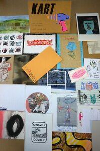 KART 113 (Mail Art, FLUXUS ,Visual Poetry,DADA, Zine in a box)