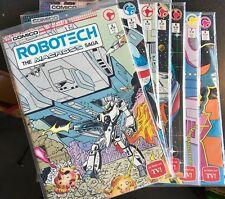 Robotech: The Macross Saga #2 3 4 5 6 7 8(1985 Comico) UNREAD! NM