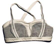 Lululemon SportBra|White&Gray|Size Small|Gym Wear|Athletics|Running|Crossfit