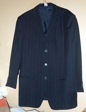 Beautiful Giorgio Armani 3 button chalk striped suit>made in Italy - 38 !