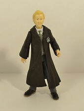 "2001 Draco Malfoy w/ Slytherin House Robes Crest 5"" Action Figure Harry Potter"