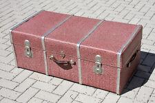 VINTAGE Übersee- Koffer 100x52x38cm Couch Tisch Oldtimer Auto 50er
