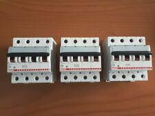 BTICINO F84A/16 INTERRUTTORE MAGNETOTERMICO 4P 16A 4,5K C 4 MODULI
