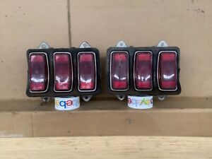 69 1969 FORD MUSTANG Tail Light Set LEFT RIGHT OEM