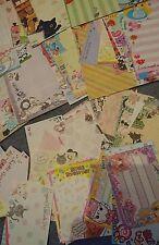 Kawaii Japanese Memo Stationary Sheets x100