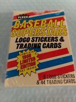 1988 Fleer Baseball's Superstars Complete Set Unopened