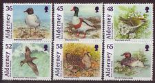 Alderney 2011 birds of the baliwick set de 6 non montés mint