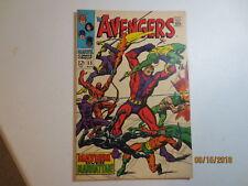 Rare original Avengers Comic Book issue #55 FN+ Condition