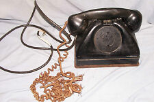 Vintage Signal Corps U.S. Army Telephone Tp-6A No. 21585 Conn. & Elec. Old Phone