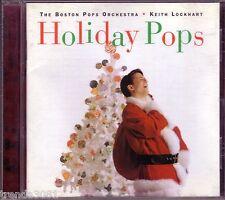 BOSTON POPS ORCHESTRA KEITH LOCKHART Holiday Pops CD Great CAROL OF BELLS Rare