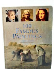 Vintage 1979 100 Famous Paintings by Marina Vaizey Longmeadow Press Art Book