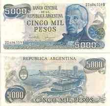 Argentina P305b. 5000 Pesos, Martin / Mar del Plata resorts, UNC