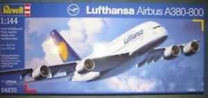 Revell 1/144 Airbus A380 Lufthansa REV-04270 Brand New