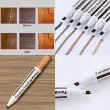 Wood Repair Fix Furniture Touch Up Kit Marker Pen Wax Scratch Filler Remover