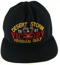 Desert Storm Persian Gulf Victory Feb 28 1991 New England Hat Co Snapback Cap