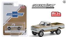 Greenlight Chevrolet K10 Pickup Truck 4x4 1969 Gold Limited 2,750 pcs 51336 1/64