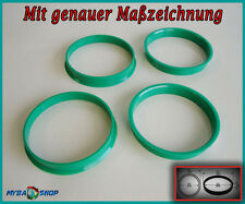 4x Zentrierringe 70,0 - 66,6 für Audi SEAT Mercedes VW usw.