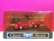 CORGI CLASSIC MODELS SUPERBE FERRARI 250 GTO NEUF BOITE ech 1/36 N9