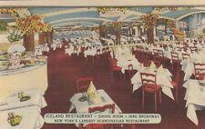 (T)  New York City, NY - Iceland Restaurant -Interior - Dining Room