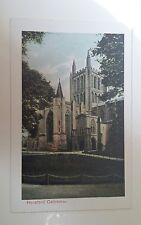 Hereford Cathedral. Postcard