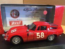 Best 9067 Alfa Romeo TZ 1 Zagato Targa Florio Rally 1964  1/43