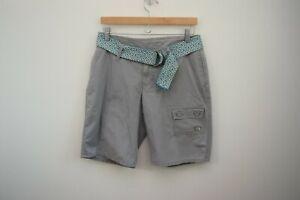 The North Face 100% Cotton Beige Hammerland Shorts 6 Long Bermuda New Belt