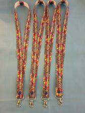 AUTISM AWARENESS PUZZLE LANYARD  -  I.D HOLDER OR KEYS coloured puzzle pieces