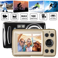 2.4HD Screen Digital Camera 16MP ISO400 Anti-Shake Face Detection Camcorder