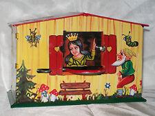 TIRELIRE BLANCHE NEIGE jouet en tole old toys tin toys jouet ancien MONEY BANK