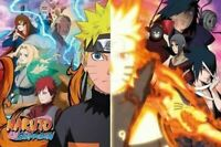 NARUTO ~ LIGHT AND DARK SIDE ~ 24x36 Anime Poster ~ NEW/ROLLED!  Shonen Jump