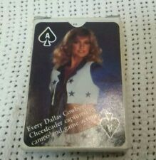 Vintage Dallas Cowboys Cheerleaders Playing Cards. Great Collectible!!