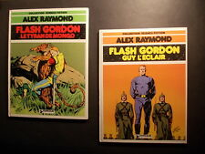 ALEX RAYMOND FLASH GORDON 1 et 2 Guy l'Eclair Tyran de Mongo Dargaud 1980 TTBE !