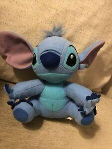 "NEW Official Disney Lilo & Stitch 6"" Sitting Stitch Mini Bean Soft Plush Toy"
