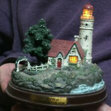 Thomas Kinkade'S Beacon Of Hope Lighthouse Sculpture Lights Up!